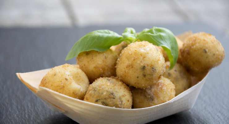 Recept gefrituurde mozzarellabolletjes