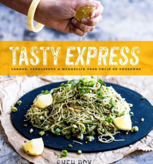 Kookboek recensie Tasty Express South & pepper