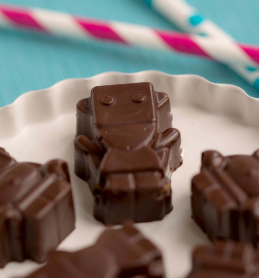 Robots in chocolade