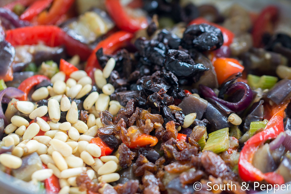 Caponata in de pan
