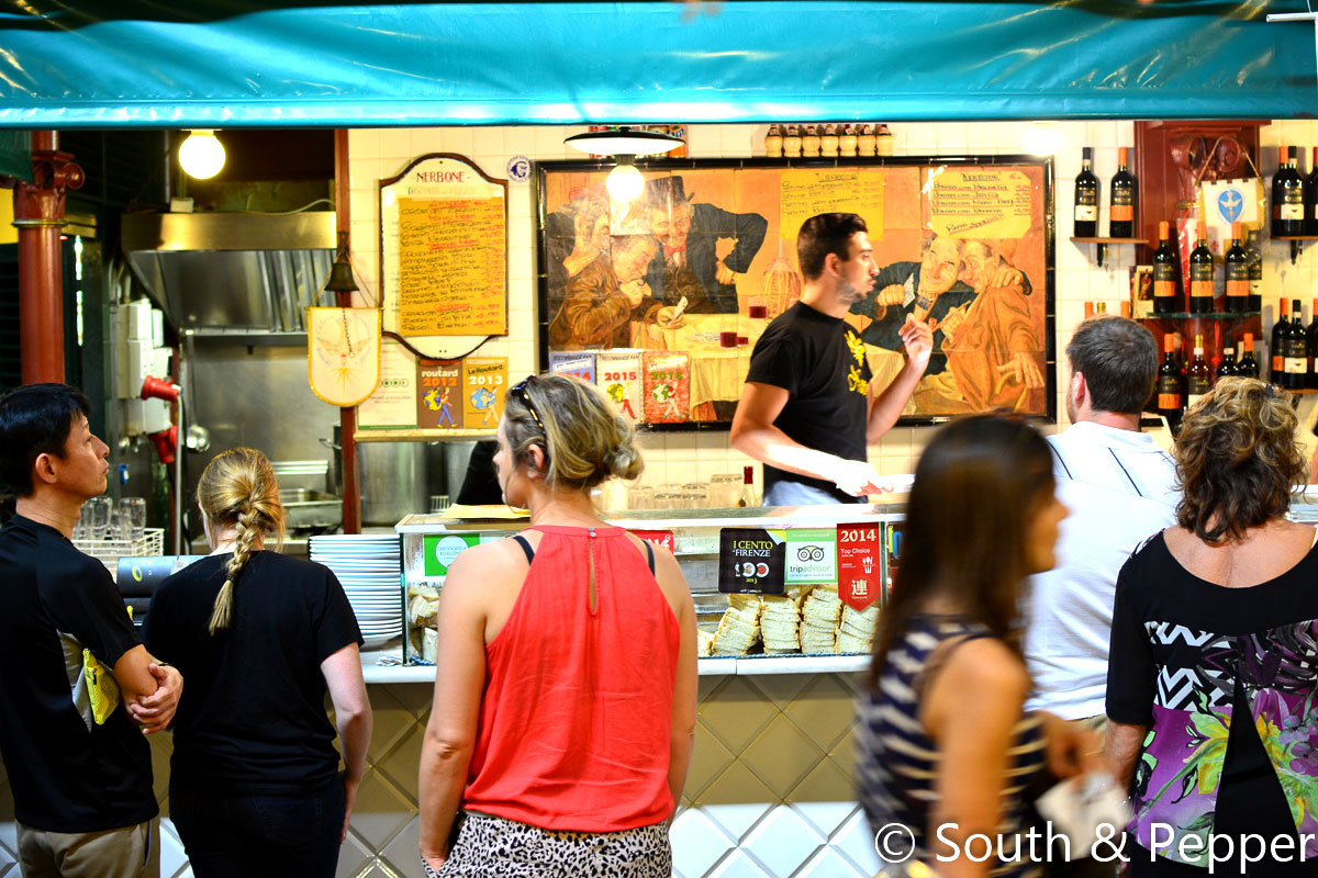 Streetfood bij Nerbone in Firenze