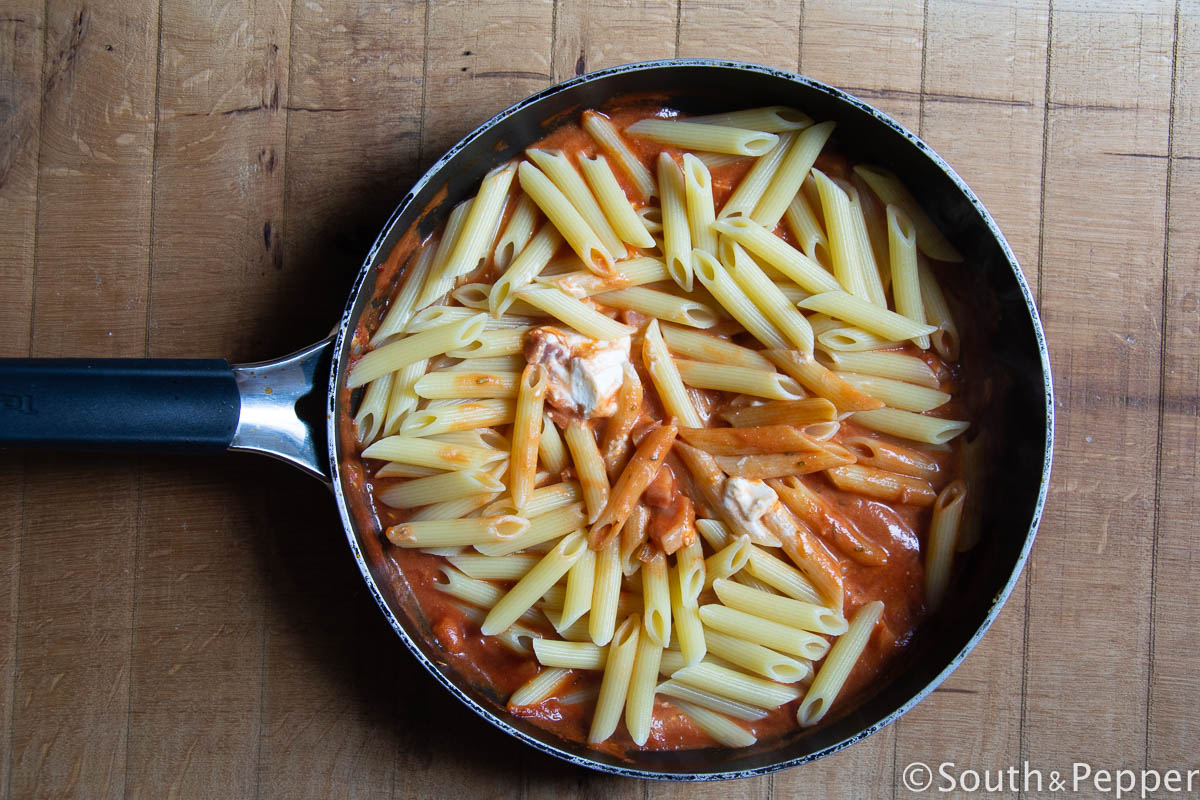 how to make penne de vodka