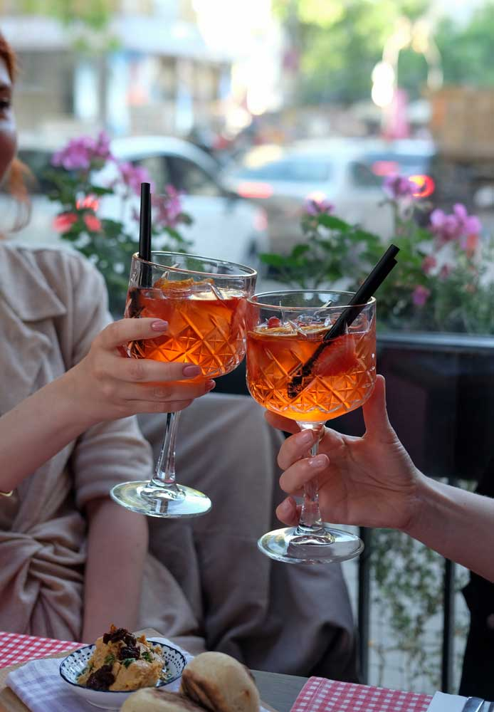 Aperol Sprits cocktail